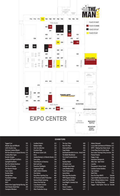 Man Expo Map